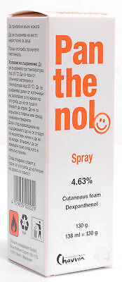 Pantenol Spray   130 Ml    Additional Treatment For Superficial Skin Injuries