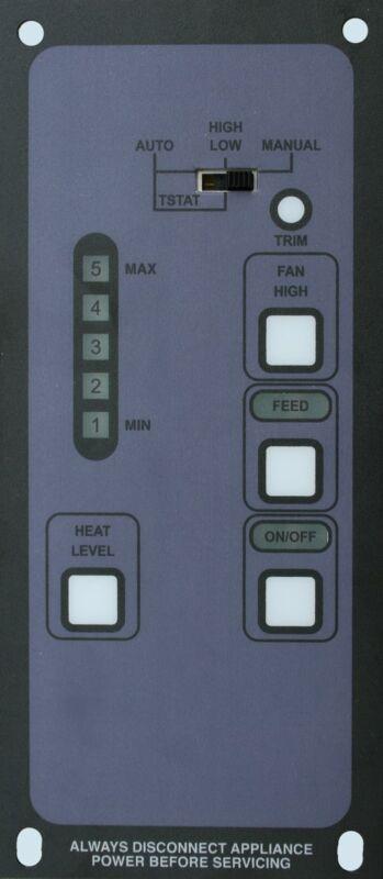 BOSCA SPIRIT / SOUL  5-LEVEL Brand New Pellet Stove Digital Control Replacement