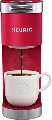 Keurig - K-Mini Increased by Single Serve K-Cup Pod Coffee Maker - Cardinal Red