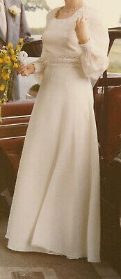 Hochzeitskleid, Brautkleid, Abendkleid, Partykleid; 70-er Jahre