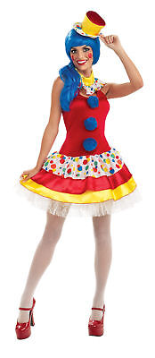 Giggles The Sexy Clown Adult Womens Costume Circus Dress Skirt Halloween](Giggles Adult)