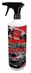 X 500ML DEVILS BLOOD CAR PAINT ALLOY WHEEL CLEANER IRON
