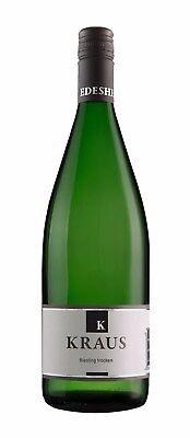 Weingut Kraus: 2019er Riesling halbtrocken 12 Fl. Wein - Weißwein Literflasche