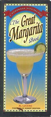 The Great Margarita Book Lucero Paperback 1999 75 Tequila Profiles 85 Recipes