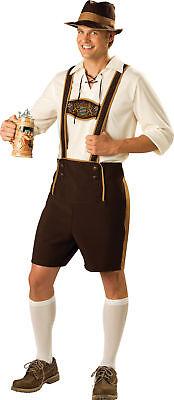 Bayrisch Mann Erwachsene Herren Kostüm Deutsches Oktoberfest Lederhosen