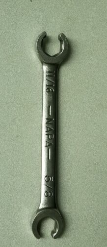 """NAPA Flare Nut Wrench NDF 554, SAE 11/16"""" X 5/8"""" FAST & FREE SHIPPING"""
