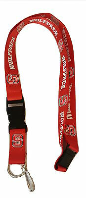 - NC State Wolfpack Lanyard with Keychain Clip North Carolina State