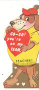 Vintage Teacher Valentine