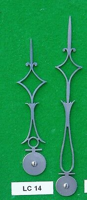 Antique clock hands from original design (Longcase clock) LC14 *MADE IN ENGLAND*