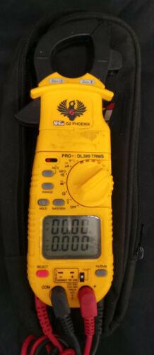 UEi DL389 G2 Phoenix Pro Plus True-RMS AC Clamp Meter