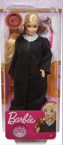 Barbie 2019 Career Of The Year JUDGE Doll Long Blonde Hair Girl Mattel FXP42 - $12.00