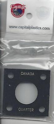 Canada Quarter Black Capital  2x2 Coin Holder