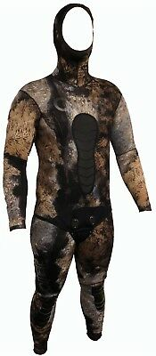 OMER 5mm Camo 3D Spearfishing Camo Wetsuit Pants Jacket 2pc Spear Fishing Mens 5