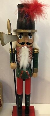 Christmas nutcracker soldier with movable Mouth 36 Cms Tall