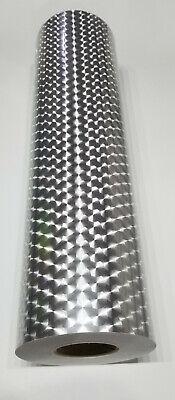 Silver Large Engine Turn Sign Plotter Cutter Vinyl