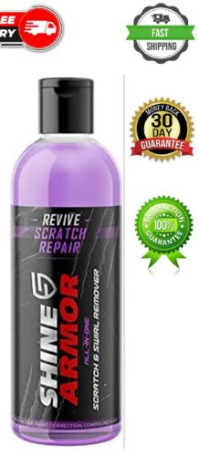 Car Scratch Remover, Repair, Protection, & Swirl Remover Polish, 4oz
