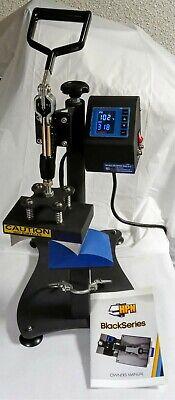 Hpn Black Series Cap Hat Heat Press Machine Digital Timetemp. Gauge