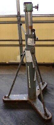 Brunson Industrial Intrument Stand Base Tripod Model 230 43-68 150 Max Load