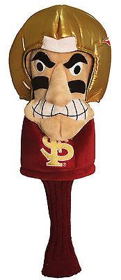 New - Florida State Seminoles Mascot Golf Driver Headcover - Oversize Noles -