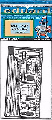 Eduard USS San Diego CL-53 Photo Etch Details in 1/700 17 023 For Dragon Kit DO