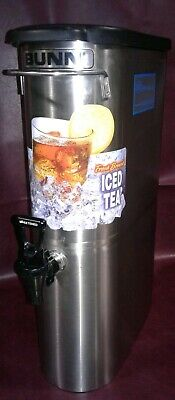 Bunn Commercial 3.5 Gal. Iced Tea Beverage Dispenser Tdo-n-3.5