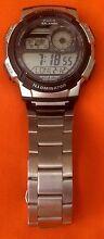 Casio 3198 AE-1000 5Alarms Illuminator World Time Men's Watch Beenleigh Logan Area Preview