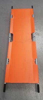 Ferno Duofold Emergency Foldable Medical Rescue Stretcher Orange