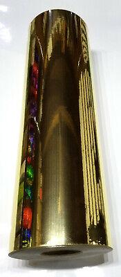 Gold Chrome Mirror Sign Plotter Cutter Vinyl Roll