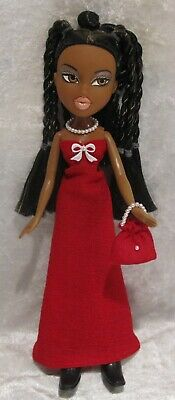 "Made to fit 9½"" BRATZ #12 Dress, Purse & Necklace Set, Handmade Doll Clothes"