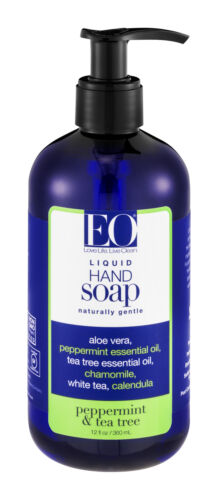 Eo Products Hand Soap Pprmnt&Tea Tree 12 Fz