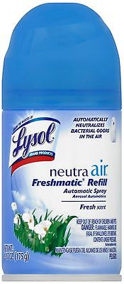 Neutra Air Refill (Lysol Neutra Air Freshmatic Spray Air Freshener, Fresh, 1 Refill, 6.17 oz)