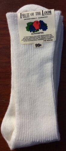 Vintage Fruit of The Loom Orlon Acrylic Luxury Knit Socks Women