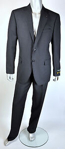 $1,495 NWT Saks Fifth Avenue Cloth by Loro Piana Super 130'S 100% Wool Suit 46 R