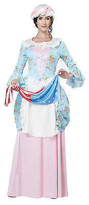 Lady Betsy Ross Colonial Lady Adult Costume - Betsy Ross Costume