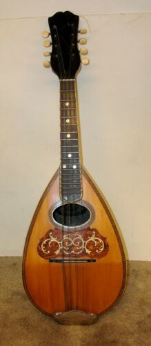 "A.C. Fairbanks, Boston Mass. ""REGENT 90"" Bowl Back Mandolin 1890 - 1904"