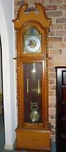 Wooden Grandfather Clock St Clair Penrith Area Preview