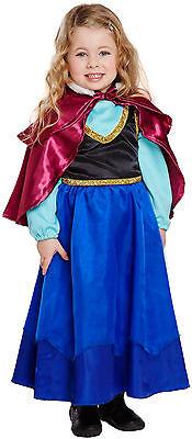 Mädchen Kostüm Schneeprinzessin Eisprinzessin Eis Prinzessin 98/104 Kleinkind  (Schnee Prinzessin Kostüm Kleinkind)