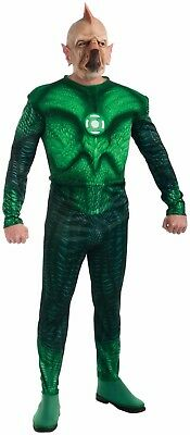Green Lantern Tomar-Re Adult Muscle Chest Halloween Costume 44-46 XL #N135 (Green Lantern Muscle Costume)