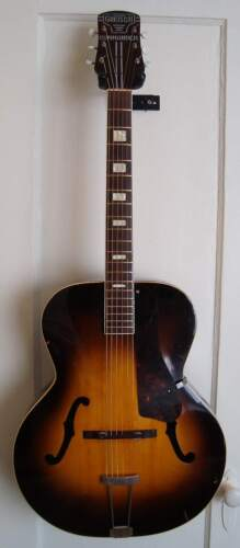 1942 Gretsch Commander Archtop Acoustic
