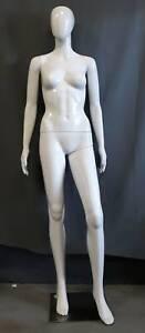 Ex-rental gloss white female mannequin Marrickville Marrickville Area Preview