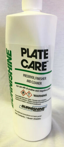 Burnishine Plate Care for all metal plates  #3600