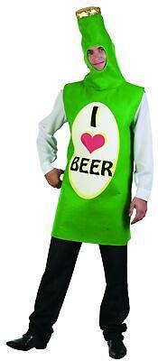 Bierflasche Kostüm für Erwachsene - Bier Kostüm Für Erwachsene