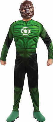 Green Lantern Kilowog Muscle Chest Child Costume Boy Movie Theme Party - Green Themed Halloween Costumes
