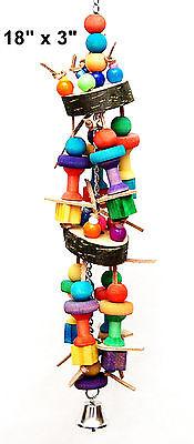 Pet Bird Parrot Toy California Cage Toys Senegal Mini Macaw Small Cockatoo
