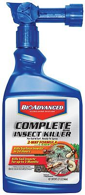 Bayer Complete Insect Killer (Bayer Advanced 700280 Complete Insect Killer for Soil and Turf Ready-To-Spray, )