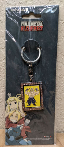 Fullmetal Alchemist Alex Lois Armstrong Keychain - FUNimation Official Licensed