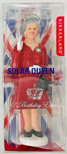 "Kikkerland ~ Solar Queen Elizabeth II  90th Birthday Limited Edition Figurine 7"""