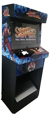 Arcade machine full size 2player classic street fighter Tekken pacman multi game