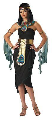 Kleopatra Erwachsene Damen Kostüm Ägyptische Königin Mittelalterlich Sexy Göttin ()