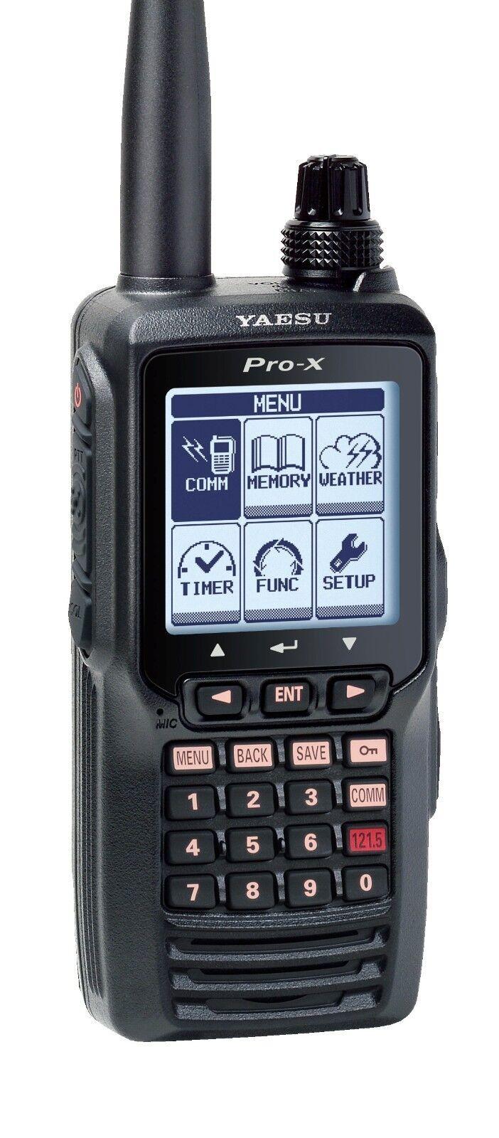 Yaesu FTA-550L VHF NAV/COM Handheld Radio w/ Li-Ion Battery Authorized Dealer